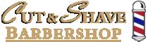 Cut & Shave Barbershop Logo
